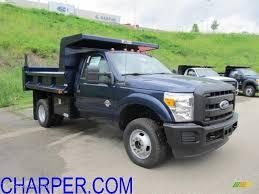 Ford F350 4x4 Trucks - 2011 dark blue pearl ford f350 super duty xl regular cab 4x4