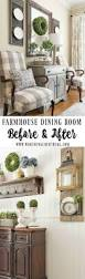 Rustic Living Room Decor Best 25 Farmhouse Dining Rooms Ideas On Pinterest Dining Room
