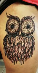 150 Most Popular Dreamcatcher Tattoos Collection Of 25 Owl Catcher Sle