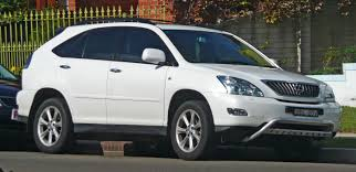 lexus models 2007 file 2007 2008 lexus rx 350 gsu35r sports luxury wagon 01 jpg