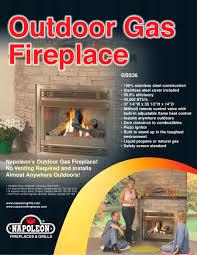 outdoor patio gas fireplace u2013 fireplaces