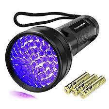 bed bug uv light black light 51 led uv flashlight pet urine detection ultraviolet