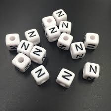 bracelet name beads images 10 10mm cube square acrylic plastic alphabet letter beads for name jpg