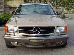 mercedes 560 sec coupe for sale find used 1987 mercedes 560 sec coupe outstanding collector