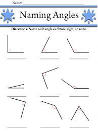 angles worksheet 3rd grade pinterest worksheets math and