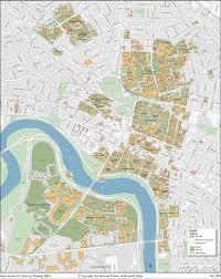 Boston University Campus Map Harvard Campus Map Harvard University Campus Map United States
