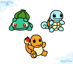 embroidery files first generation starters bulbasaur charmander
