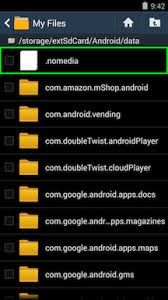 my files android help what are the changes to sd card support in android