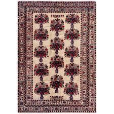 afghan hand knotted tribal balouchi wool rug 6 u002711 x 9 u00278 herat
