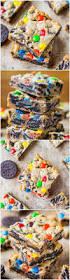 loaded m u0026m oreo cookie bars averie cooks