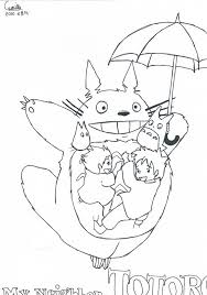 picture totoro coloring pages 16 free colouring pages