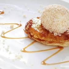 tarte tatin cuisine az recette mini tartes tatin à l ananas et glace à la vanille facile