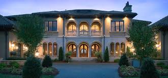villa style homes luxury home builder custom home builder