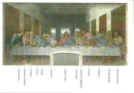 last supper with names