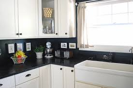 kitchen backsplash paint ideas remodelaholic 15 diy kitchen backsplash ideas