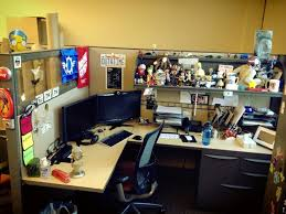 Pixar Cubicles Is Your Desk Cubicle Office Workshop Etc Decorated With Toys