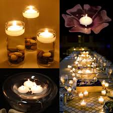 40 round floating candle disc floater candles wedding party home