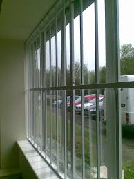 home window security bars folding concertina security grilles for home business window door