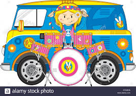 volkswagen hippie van clipart cartoon hippie van stock photos u0026 cartoon hippie van stock images