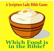 which food is in the bible bible for preschoolers