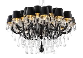 Chandelier With Black Shades Modern Murano Chandelier Dmgouttes24k Murano