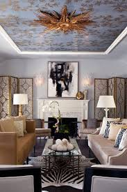 Living Room Ceiling Design Photos visual feast 10 rooms with magical multicolored ceilings