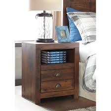 one drawer night stand with usb chargers by signature design by