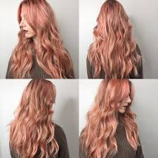 rose gold hair color rose gold hair 1 free hair color pictures