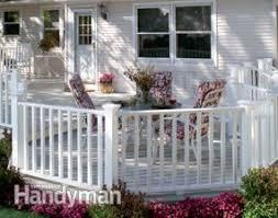 no maintenance deck rails family handyman