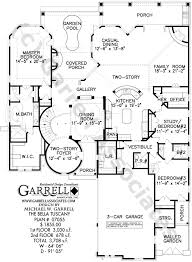 floor plans florida tuscany house plan costa plans