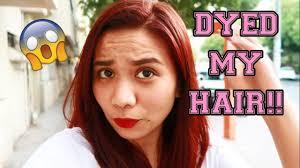 donna hair dyed my hair vlog 19 in dubai donna krizel