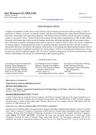 Cma Resume Examples by Cap Resume Best Free Resume Collection
