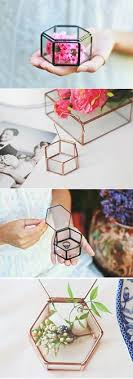 modern crystal ring holder images Wedding ring holder wedding ring pyramid mini glass geometric jpg