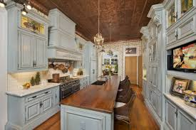 kitchen wrought iron chandeliers rustic island for small kitchen