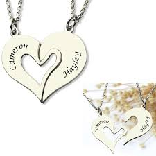 Couple Name Necklace Compare Prices On Name Necklace Couple Online Shopping Buy Low