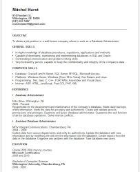 Sample Dba Resume by Ccna Resume Format 87 Amazing Sample Professional Resume Free
