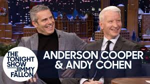 Anderson Cooper Meme - anderson cooper and andy cohen met on a failed blind date youtube