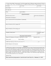 Registration Form Template Excel Event Registration Form Template Printable Besttemplates123