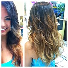 ombre and highlight from thoa perfection yelp
