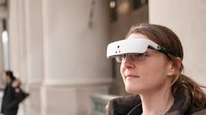 Legally Blind Driving This U0027star Trek U0027 Like Headset Helps The Legally Blind See Again Cnet