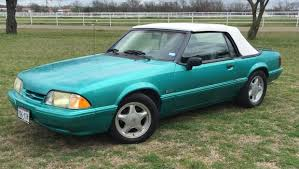 1993 mustang lx for sale sold 1993 mustang lx 5 0 convertible for sale calypso green