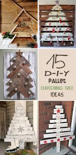 15 amazing diy pallet christmas tree ideas pallet christmas