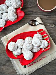 pfeffernusse spiced snowball cookies comfortably domestic