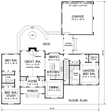house plan the preston by donald a gardner architects