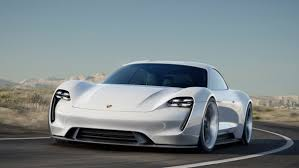 electric cars tesla porsche mission e electric car tesla rival photos features