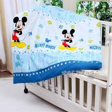 Mickey Mouse Baby Bedding Promotion 10pcs Mickey Mouse Baby Bedding Set For Cot And Crib