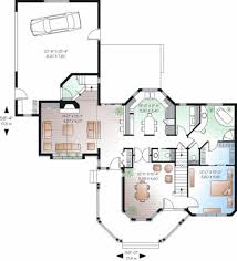 Victorian Floor Plan Victorian Style House Plan 4 Beds 3 50 Baths 2265 Sq Ft Plan 23 750