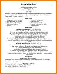 Retail Resume Templates Literature Review Sample Mla Writing A Personal Statement For