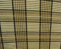 plaid home decor fabric 1 2 yard home decor print brown blue white wavy plaid 57 wide