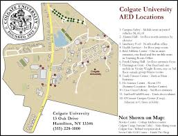 Bates College Map Colgate University Campus Map Image Gallery Hcpr